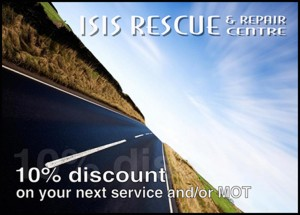 Isis Workshop discount card_front_1